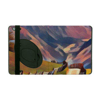 Funda Para iPad moderno, dadaism, digital, pintura, colorida,