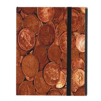 Funda Para iPad Monedas de cobre