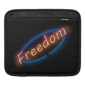 Funda Para iPad Muestra de neón de la libertad