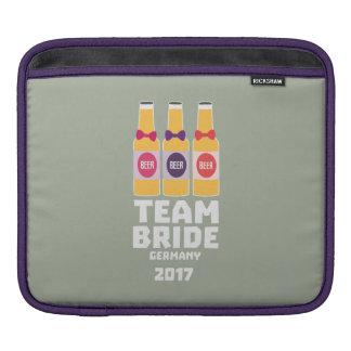 Funda Para iPad Novia Alemania del equipo 2017 Z36e6
