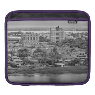 Funda Para iPad Opinión aérea de Guayaquil del avión de la ventana