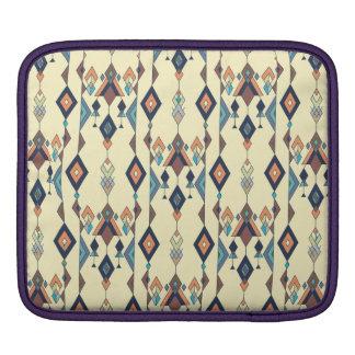 Funda Para iPad Ornamento azteca tribal étnico del vintage