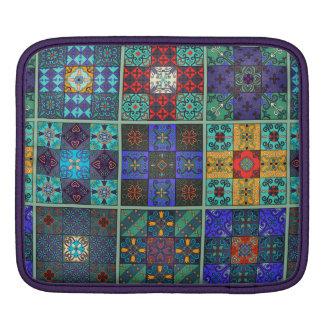 Funda Para iPad Ornamento de Talavera del mosaico del vintage