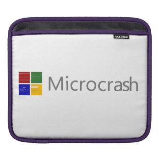 Funda Para iPad Pantalla de Microcrash del logotipo de la muerte