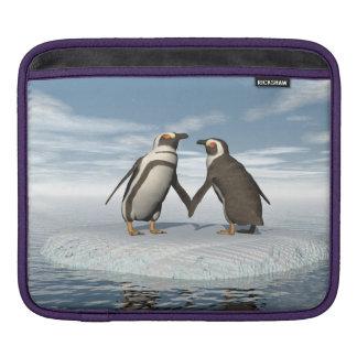Funda Para iPad Pares de los pingüinos