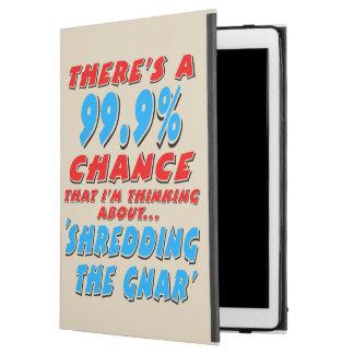 """Funda Para iPad Pro 12.9"""" 99,9% DESTROZANDO EL GNAR (negro)"""