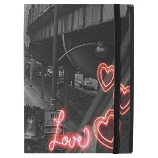 """Funda Para iPad Pro 12.9"""" Amor del neón de la muestra del restaurante de"""