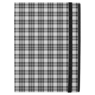 "Funda Para iPad Pro 12.9"" Caja del tartán de Black&white"
