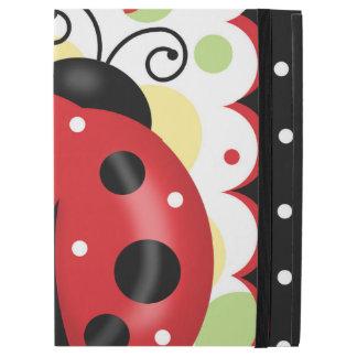 """Funda Para iPad Pro 12.9"""" Caso del iPad de la mariquita favorable sin"""