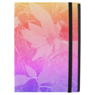 """Funda Para iPad Pro 12.9"""" Caso descolorado de IPad del girasol del color"""