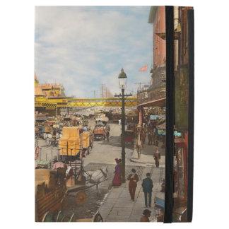 """Funda Para iPad Pro 12.9"""" Ciudad - NY - hace cientos algunos años 1900"""