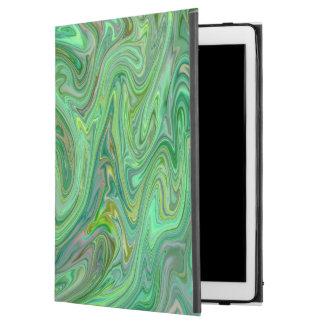 """Funda Para iPad Pro 12.9"""" colores cremosos, verdes"""