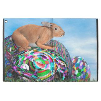 """Funda Para iPad Pro 12.9"""" Conejo en su huevo colorido para Pascua - 3D"""