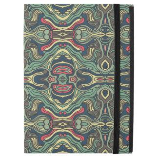 """Funda Para iPad Pro 12.9"""" Diseño rizado dibujado mano colorida abstracta del"""