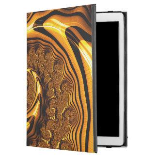 """Funda Para iPad Pro 12.9"""" Espiral estupendo del chocolate con leche del"""