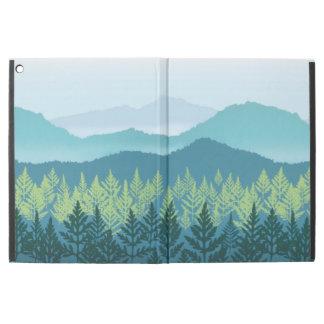"""Funda Para iPad Pro 12.9"""" Favorable caso de Ridge del iPad azul del cuarto"""