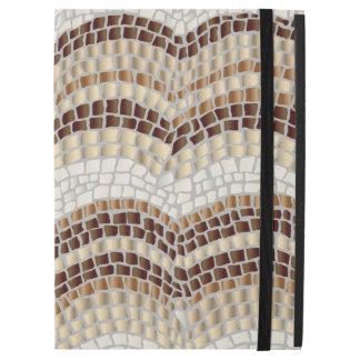 """Funda Para iPad Pro 12.9"""" Favorable caso del iPad beige del mosaico sin"""
