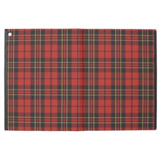 """Funda Para iPad Pro 12.9"""" Favorable caso del iPad rojo clásico del tartán"""