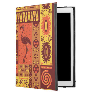 "Funda Para iPad Pro 12.9"" Favorable caso del iPad tribal africano del modelo"