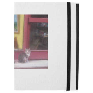 """Funda Para iPad Pro 12.9"""" Gato y tienda"""