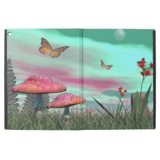 """Funda Para iPad Pro 12.9"""" Jardín de la fantasía - 3D rinden"""