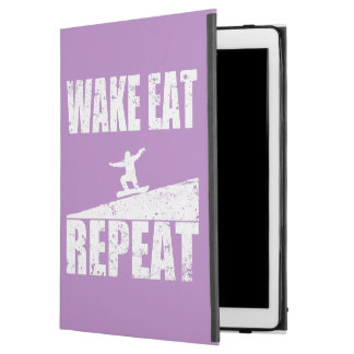 """Funda Para iPad Pro 12.9"""" La estela come la repetición #2 de la snowboard"""
