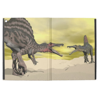 "Funda Para iPad Pro 12.9"" Lucha del dinosaurio de Spinosaurus - 3D rinden"