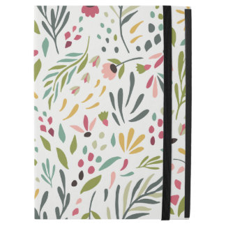 """Funda Para iPad Pro 12.9"""" Modelo botánico colorido lindo de las hojas y de"""