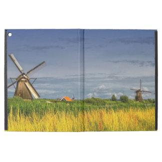 """Funda Para iPad Pro 12.9"""" Molinoes de viento en Kinderdijk, Holanda, Países"""