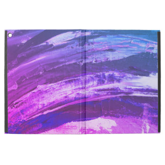 """Funda Para iPad Pro 12.9"""" Movimientos púrpuras del cepillo"""