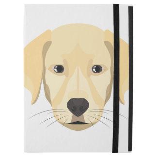 """Funda Para iPad Pro 12.9"""" Perrito Retriver de oro del ilustracion"""