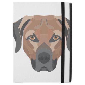 """Funda Para iPad Pro 12.9"""" Perro Brown Labrador del ilustracion"""