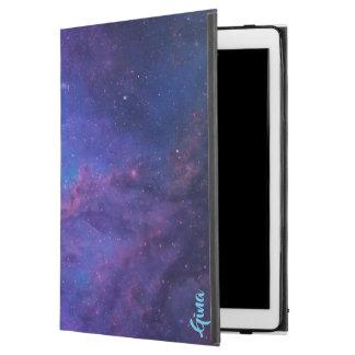 """Funda Para iPad Pro 12.9"""" Púrpura profunda y azul del fondo del extracto del"""