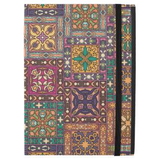 """Funda Para iPad Pro 12.9"""" Remiendo del vintage con los elementos florales de"""