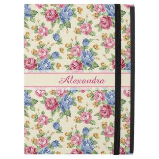 """Funda Para iPad Pro 12.9"""" Rosa romántico en colores pastel del flor, rojo,"""