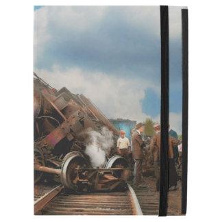 """Funda Para iPad Pro 12.9"""" Tren - accidente - cabezas que empalman 1922"""