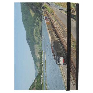 "Funda Para iPad Pro 12.9"" Tren de carga en Assmanshausen a la rin"