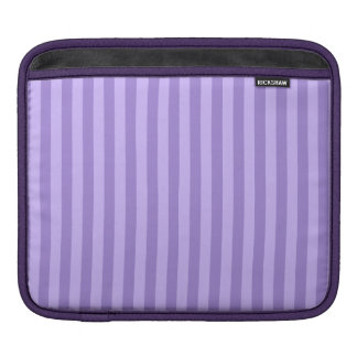 Funda Para iPad Rayas finas - violetas y violadas claras
