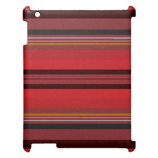 Funda Para iPad Rayas - horizonte rojo