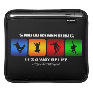 Funda Para iPad Snowboard fresca es una manera de vida