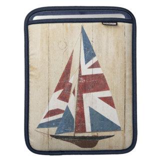 Funda Para iPad Velero británico de la bandera