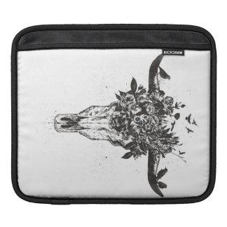 Funda Para iPad Verano muerto (blanco y negro)