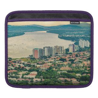 Funda Para iPad Vista aérea de la cercanía de Guayaquil del avión