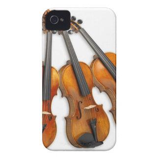 FUNDA PARA iPhone 4 3 VIOLINES MUSICALES