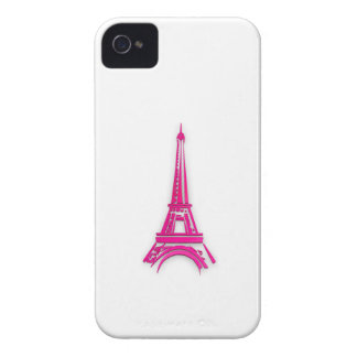 Funda Para iPhone 4 3d torre Eiffel, clipart de Francia