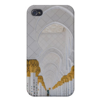 Funda Para iPhone 4/4S Columnas de jeque Zayed Grand Mosque, Abu Dhabi