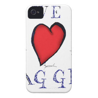 Funda Para iPhone 4 amamos haggis