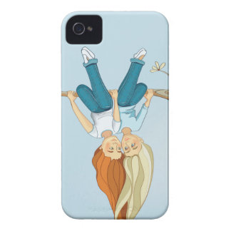 Funda Para iPhone 4 Amistad de los chicas