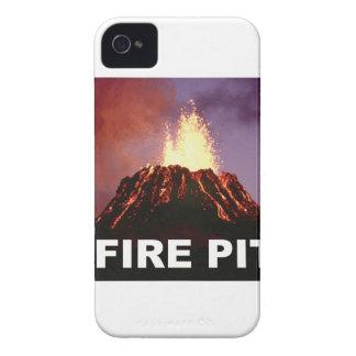 Funda Para iPhone 4 arte del hoyo del fuego