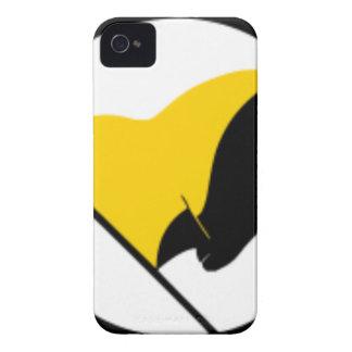 Funda Para iPhone 4 Bandera del capitalismo de Anarcho